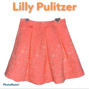 Lilly Pulitzer Harlow Pleated Word On The Street